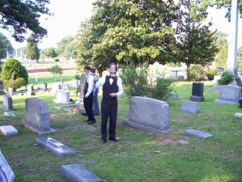 Photos from Fundraiser at Oakwood Cemetery 014