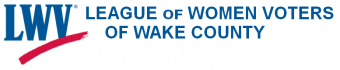 League of Women Voters of Wake County logo