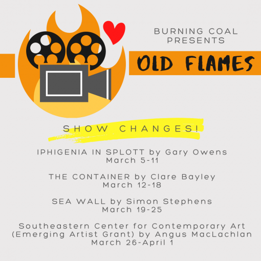 Old Flames March 2021 graphic