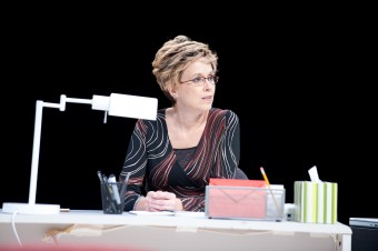 """Julie Oliver as """"Dr. Diane Cassell"""""""