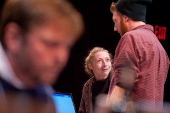 Holden Hansen, Emilie Blum and Chris Raddatz
