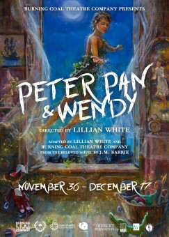 Peter Pan and Wendy Poster